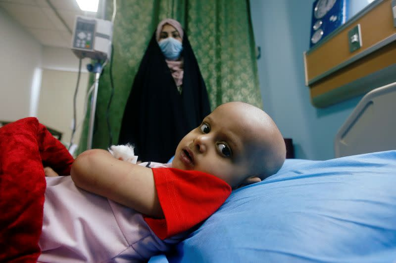 Iraqi children's hospital fighting to keep cancer patients safe from COVID-19