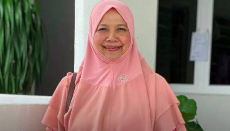 A Malaysian professor has triggered a backlash for saying women should 'act dumb' in order to attract a man (Franklin Unity YouTube/Screengrab)