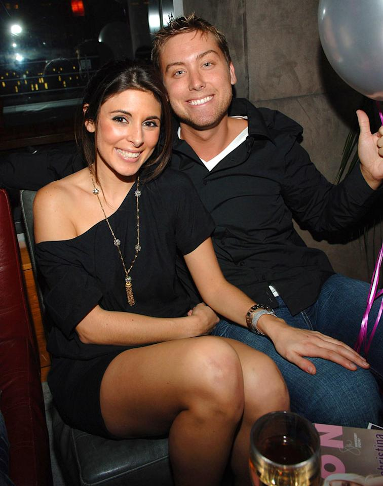 "Jamie-Lynn Sigler and Lance Bass celebrate Nylon Magazine's 8th Anniversary at the Hotel Gansevoort in New York. Jamie McCarthy/<a href=""http://www.wireimage.com"" target=""new"">WireImage.com</a> - March 21, 2007"