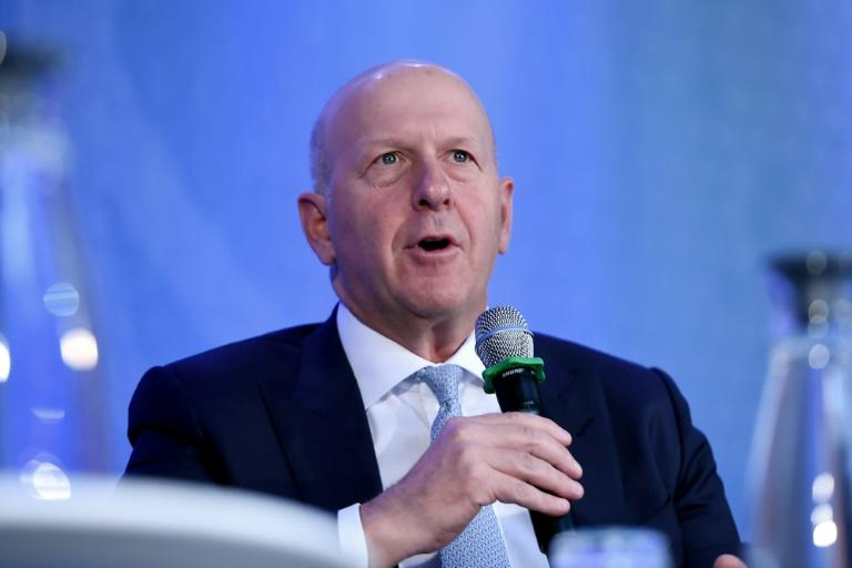 David Solomon, chief executive of Goldman Sachs, which reported a drop in quarterly earnings due to higher legal and regulatory costs