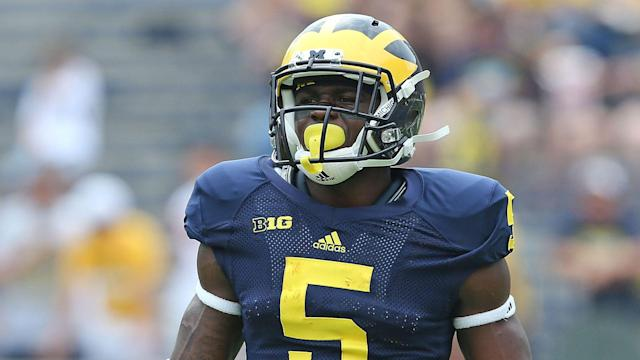 NFL teams were reportedly notified that the former Michigan all-purpose star tested positive for a dilute sample at the combine.