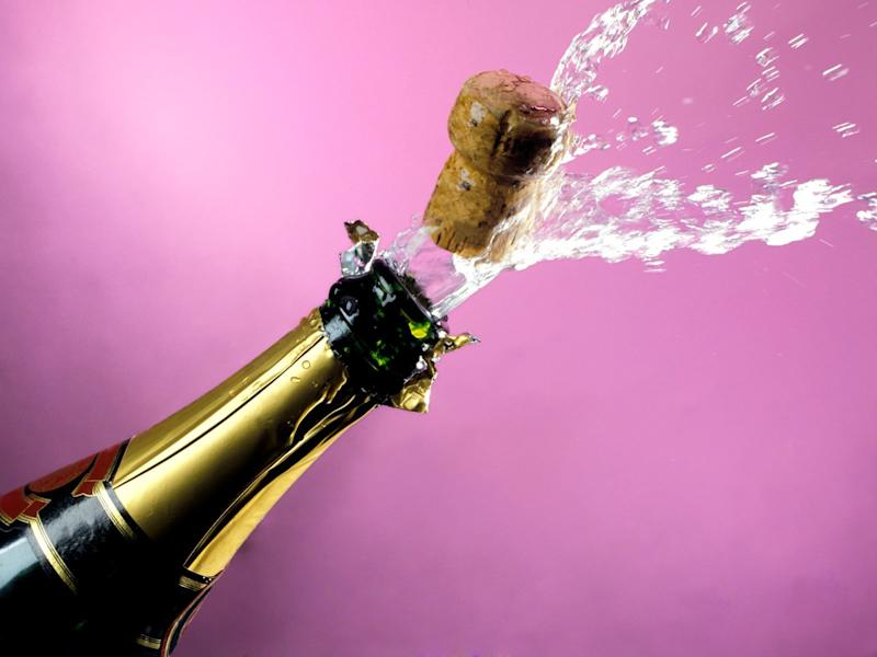 How Popping a Champagne Cork Is Similar to a Supersonic Jet Engine