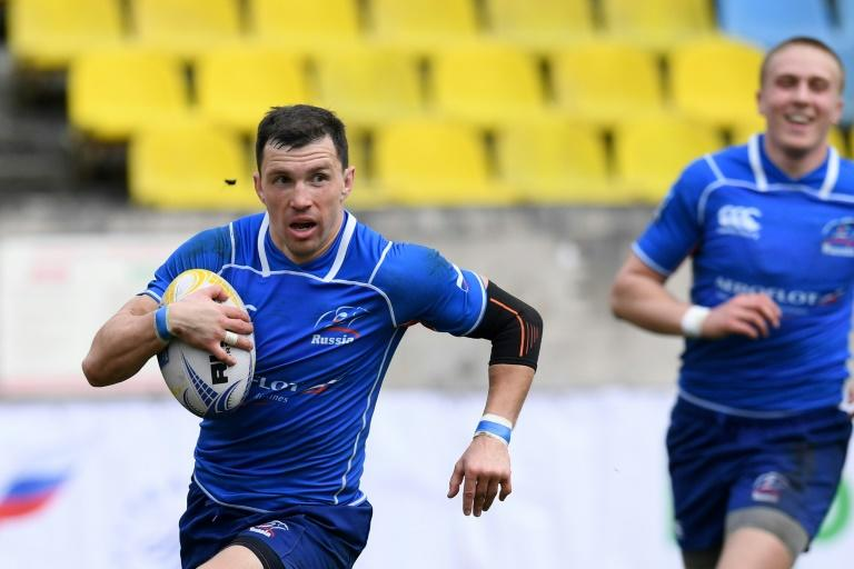 Vasily Artemyev will captain Russia in Friday's Rugby World Cup opener against Japan (AFP Photo/Kirill KUDRYAVTSEV)