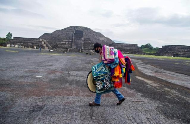 Mexico's pre-Hispanic city of Teotihuacan has reopened after a months-long closure due to the pandemic