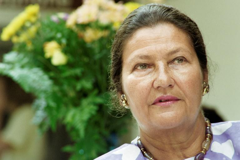 France's Simone Veil, first of only two women presidents of the European Parliament, pictured in 1992