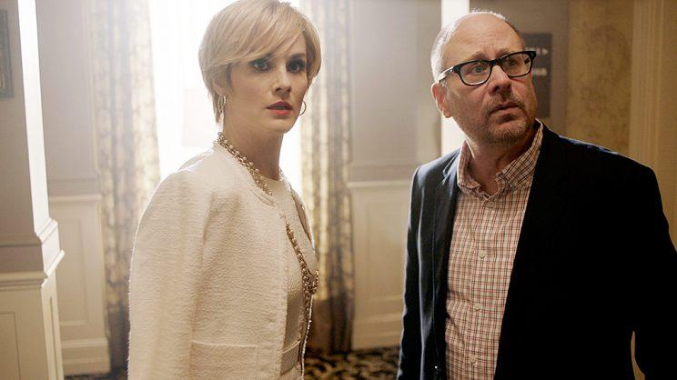 Michelle Dockery and Terry Kinney (Credit: Brownie Harris/TNT)