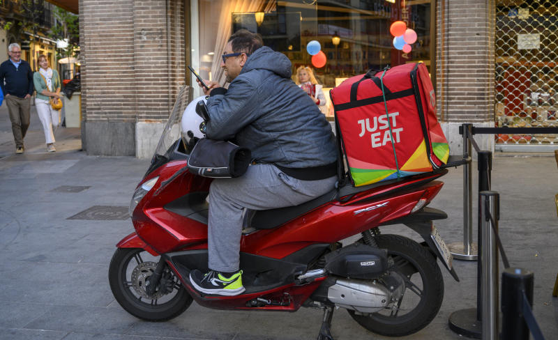Just Eat satisfies hunger for takeaway Dutch CEO