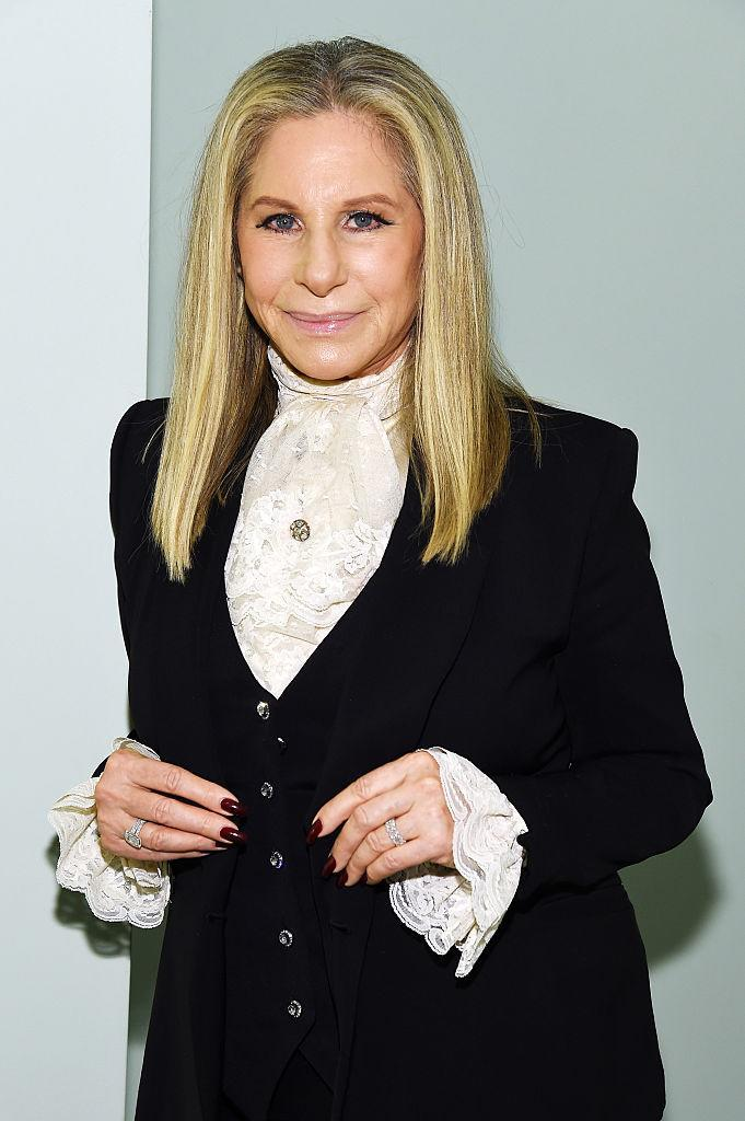 Barbra Streisand is struggling with stress weight gain. (Photo by Kevin Mazur/Getty Images for Tony Awards Productions)