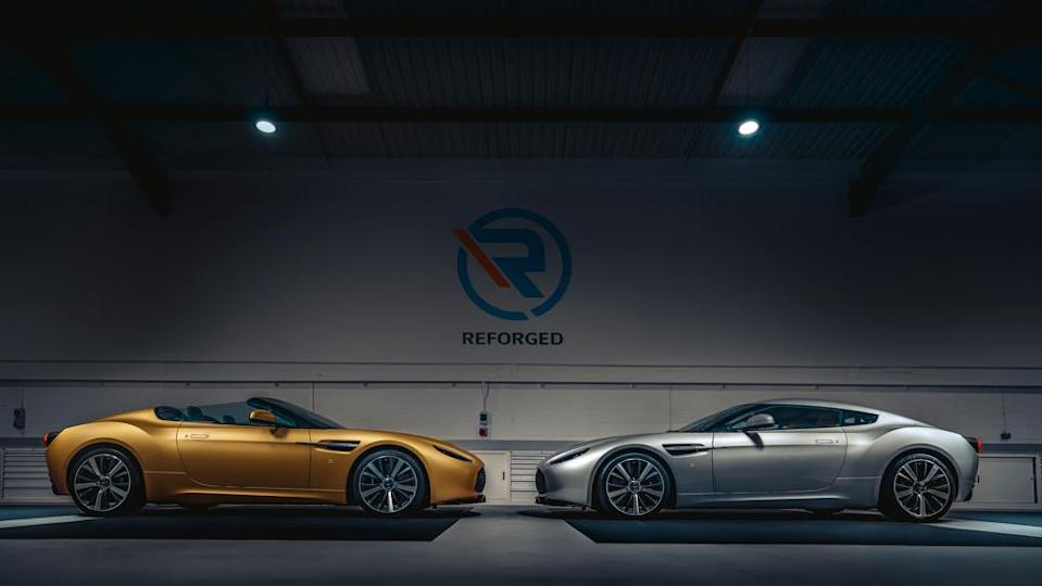 The First Pair Of Aston Martin Vantage V12 Zagato Heritage Twins Are Here