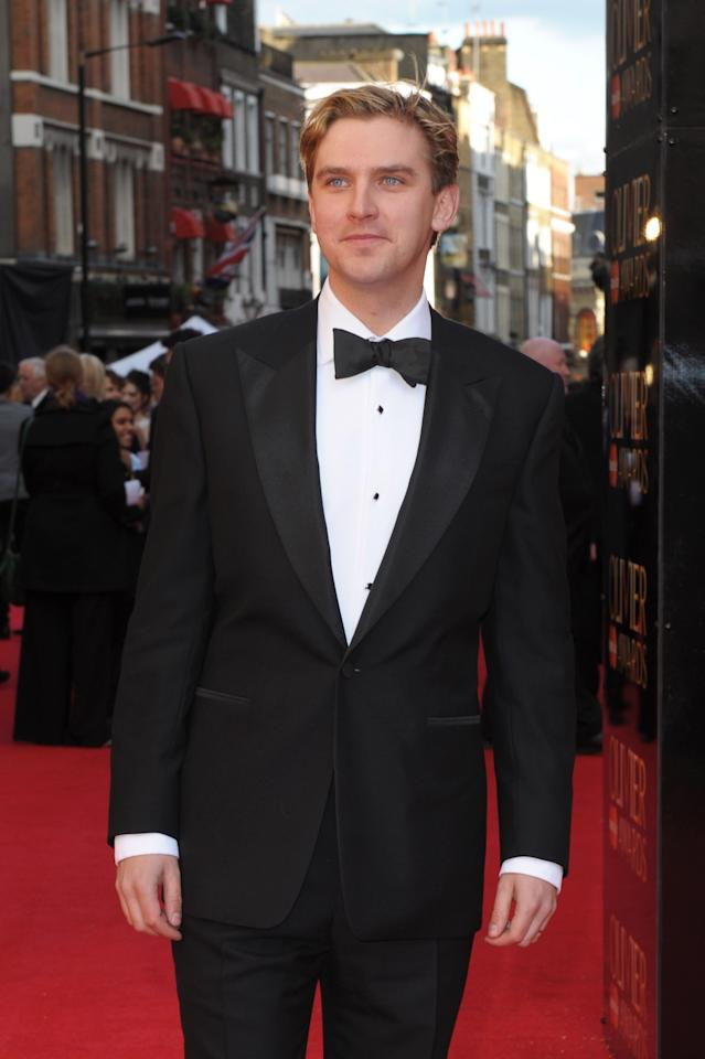 LONDON, ENGLAND - APRIL 15:  Dan Stevens attends the 2012 Olivier Awards at The Royal Opera House on April 15, 2012 in London, England.  (Photo by Ben Pruchnie/Getty Images)