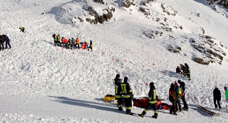 Three killed in avalanche on Italian alps