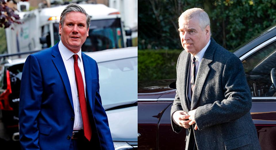Sir Keir Starmer said Andrew should cooperate with US authorities. (Getty images)