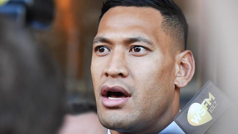 Israel Folau has briefly removed his Twitter and Instagram accounts ahead of a court hearing