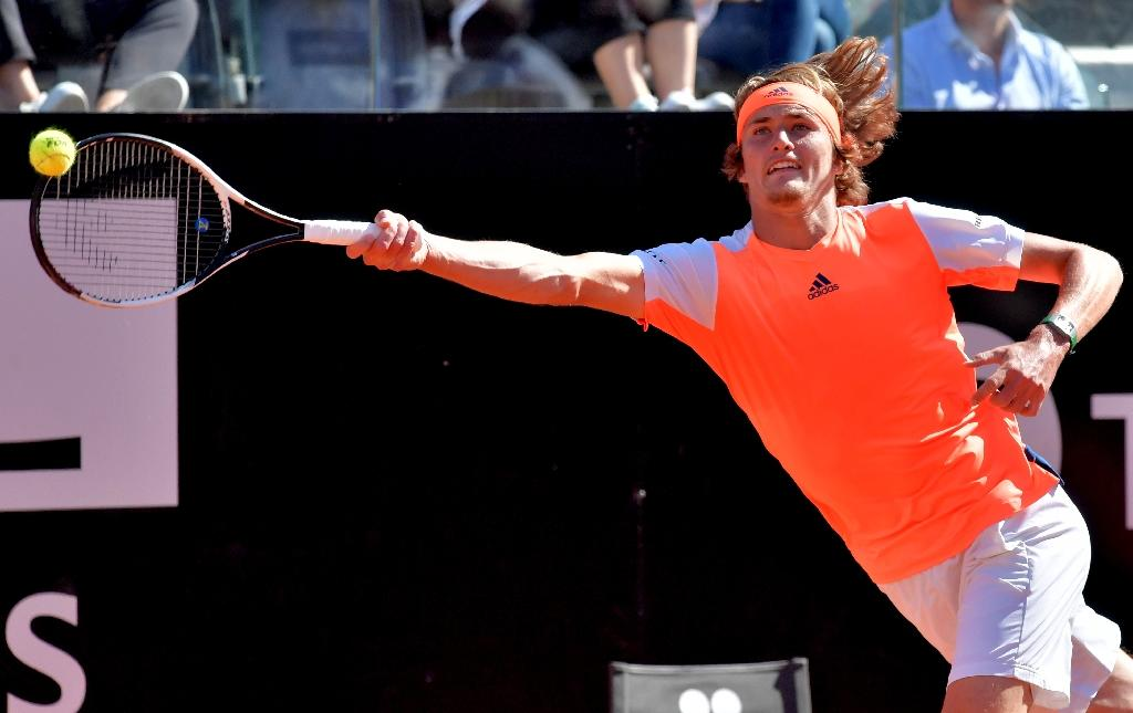20-year-old Alexander Zverev (pictured) heads to the French Open viewed as the man most likely to profit should nine-time champion Rafael Nadal, world number one Andy Murray and 2016 winner Djokovic falter (AFP Photo/TIZIANA FABI)