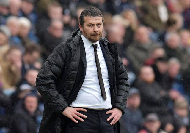"Soccer Football - Championship - Preston North End vs Fulham - Deepdale, Preston, Britain - March 10, 2018 Fulham manager Slavisa Jokanovic Action Images/Paul Burrows EDITORIAL USE ONLY. No use with unauthorized audio, video, data, fixture lists, club/league logos or ""live"" services. Online in-match use limited to 75 images, no video emulation. No use in betting, games or single club/league/player publications. Please contact your account representative for further details."