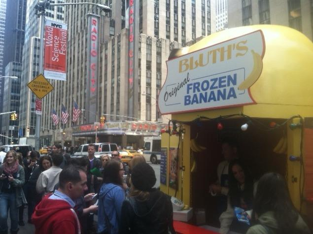 In Your Face, Networks: 'Arrested Development' Banana Stand Hits Upfronts
