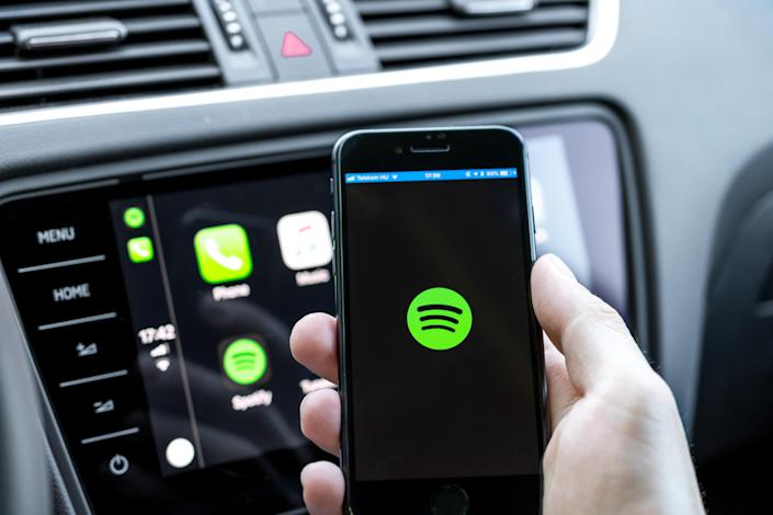 Spotify is adding to its impressive podcast empire as stock soars
