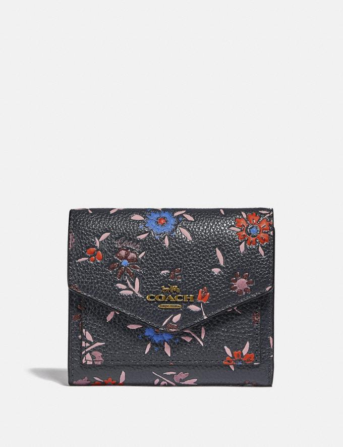 Small Wallet With Wildflower Print - Coach, $75 (originally $150)