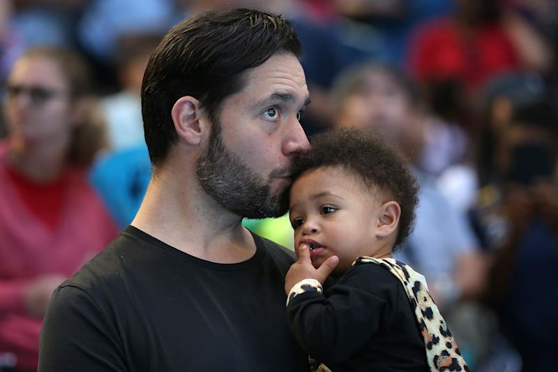 Alexis Ohanian said he resigned to set an example for his and Serena Williams' daughter Alexis Olympia Ohanian Jr. (Photo by Paul Kane/Getty Images)