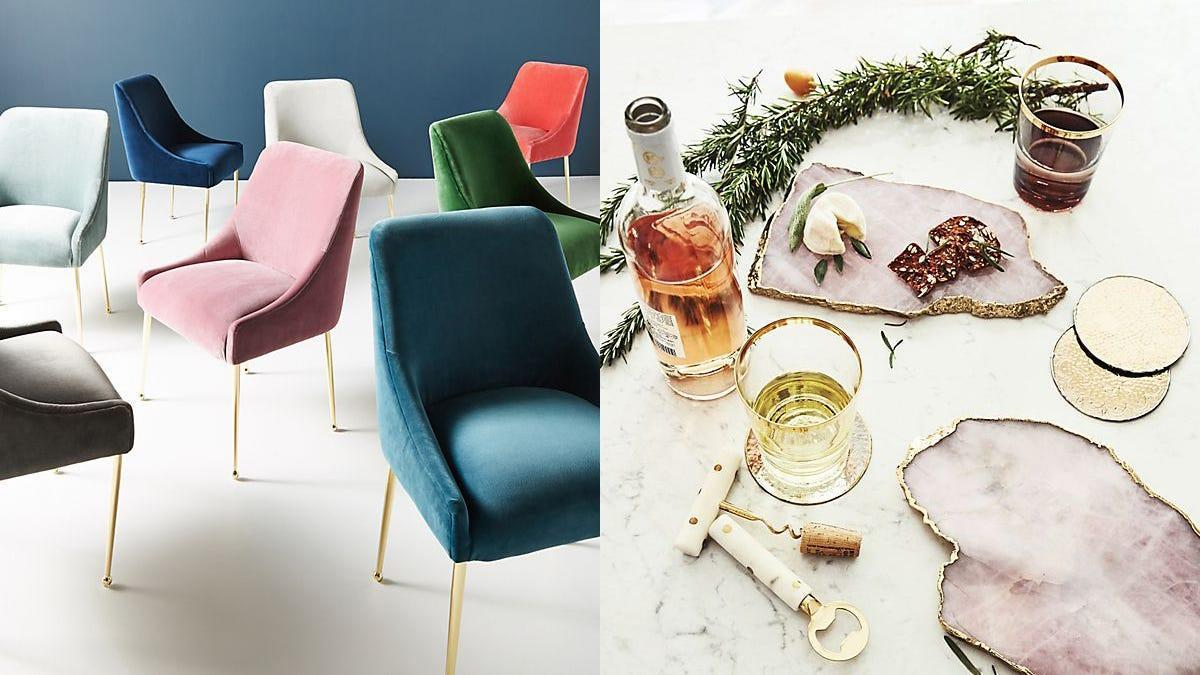 Save big on home furnishings and holiday essentials with this sale.