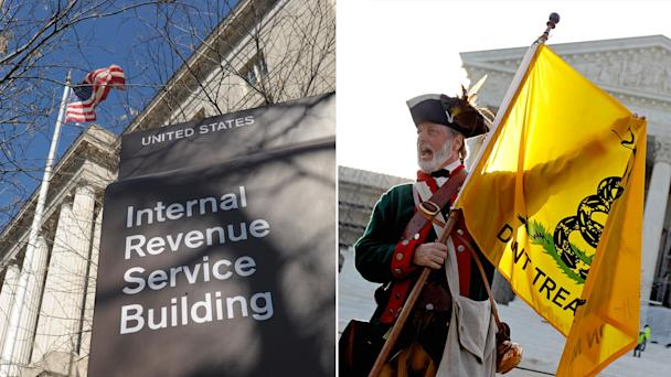 AP irs tea party nt 130514 Tea Party Groups Awaken From Holiday Slumber to Fight IRS Rules