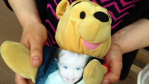 Two-year-old Kennedy Corrigan suffered a massive brain injury on April 2, 2004, and died a week later at the IWK Health Centre in Halifax.  (Catherine Harrop/CBC - image credit)