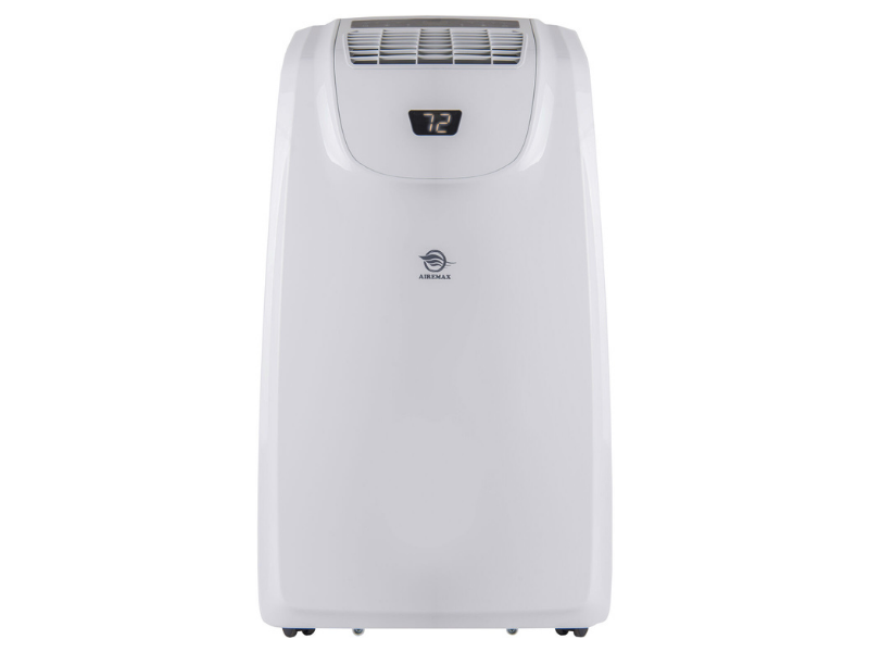 This portable cooling unit also works as a heater. (Photo: Walmart)