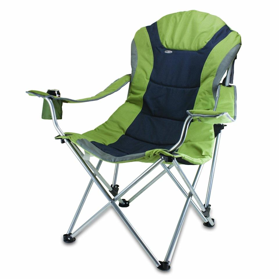 "<div class=""caption-credit""> Photo by: amazon.com</div><b>In: Picnic Chair.</b> What once had two hinges now has too many to count. Foldable, more supportive and even cup-friendly, the new version of the portable outdoor chair has replaced Grandma's best bets. If only this new model had half the charisma of the original."