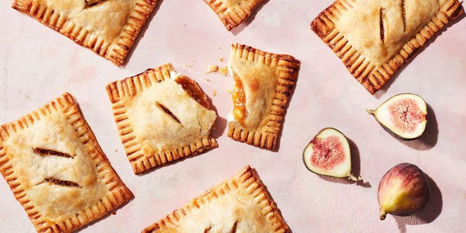 "<p>Sweet figs and cream cheese in a warm, crispy breakfast pastry? Yes, please! </p><p><em><a href=""https://www.delish.com/cooking/recipe-ideas/recipes/a48506/fig-compote-and-cheese-breakfast-pastry-pockets-recipe/"" rel=""nofollow noopener"" target=""_blank"" data-ylk=""slk:Get the recipe from Delish »"" class=""link rapid-noclick-resp"">Get the recipe from Delish »</a></em> </p>"