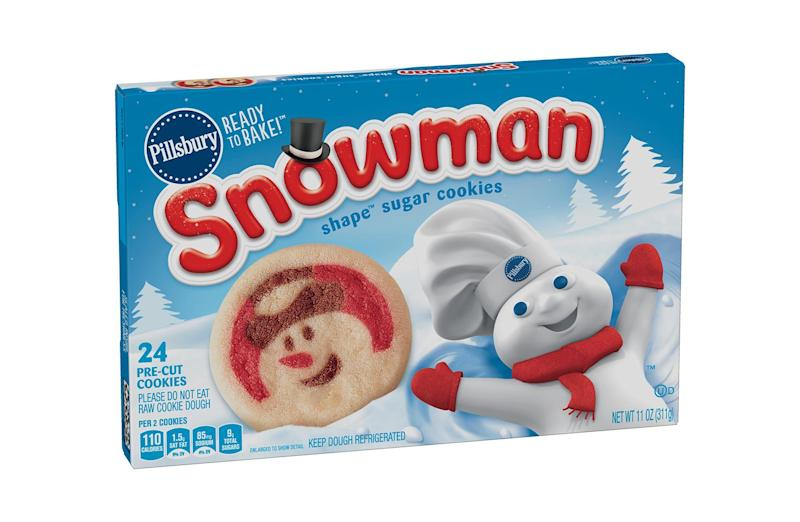 Pillsbury's winter shape sugar cookies are already here for the holidays
