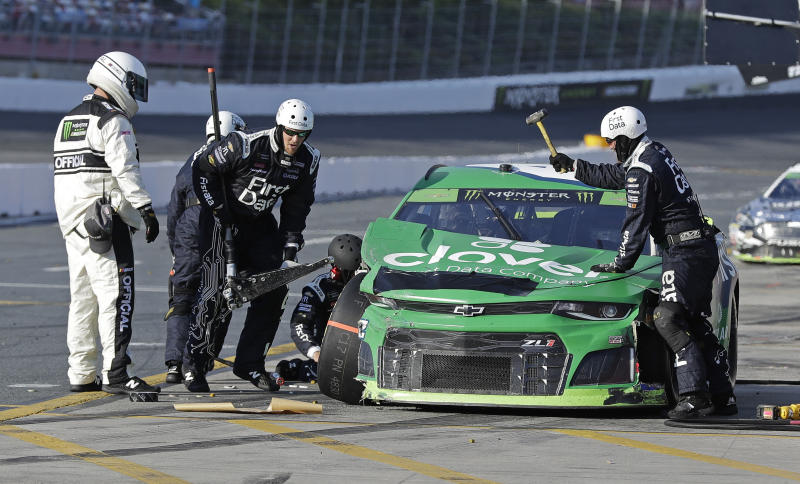 Larson facing playoff elimination after NASCAR penalty