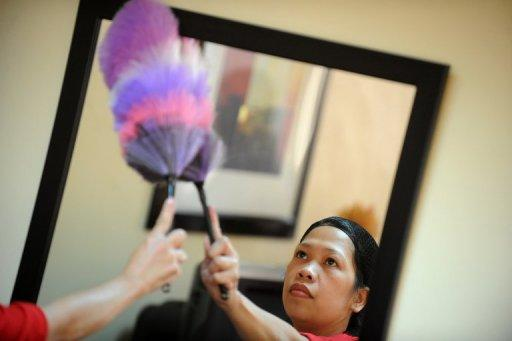Foreign maids must be supervised when cleaning windows following a rise in the number of fatal work-related falls