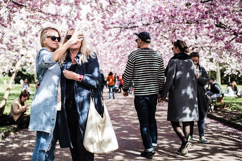 Denmark lost to Switzerland in the 2015 version of the World Happiness Report but was named the happiest country once again in this year's report (AFP Photo/Sophia Juliane Lydolph)
