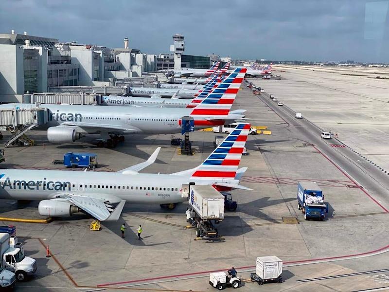 Miami International Airport on March 13, 2020.