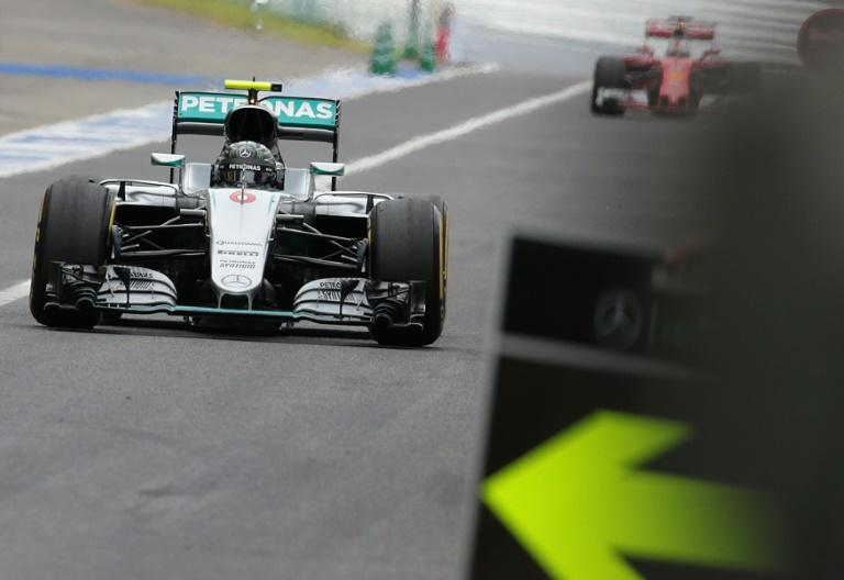 Mercedes AMG Petronas F1 Team's German driver Nico Rosberg looks to extend his lead over the pack in Mexico