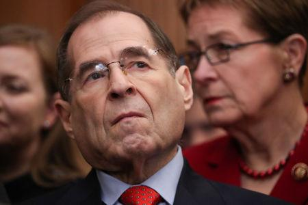 U.S. Representative Nadler participates in a news conference with fellow Democrats to introduce proposed government reform legislation at the U.S. Capitol in Washington