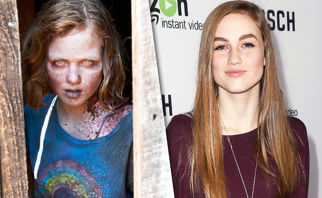 Celebrity guest zombies on walking dead