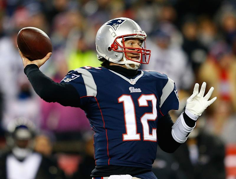 Patriots rally for playoff win over Ravens