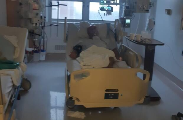 Pablo Gray was admitted to the Jewish General Hospital's intensive care unit.