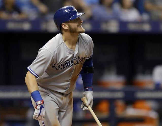Josh Donaldson tends to come through with the game on the line. (AP Photo)