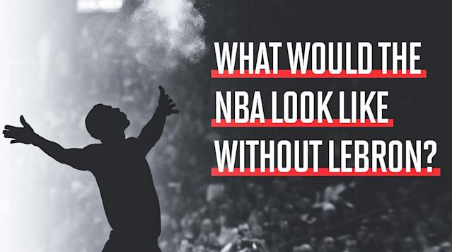 What would the NBA look like if LeBron James never made it? The hypothetical opens up rabbit holes in every direction. We examine the ripple effects for the Cavs, Raptors, Kevin Durant and more.