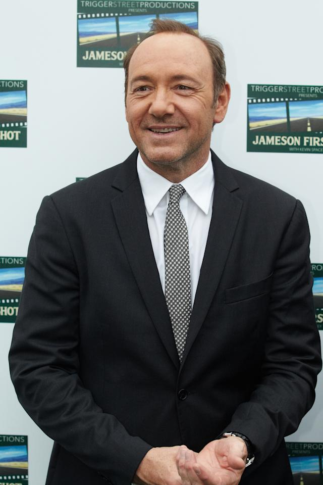 MOSCOW, RUSSIA - MAY 27:  Actor Kevin Spacey attends a premiere during the Jameson First Shot Short Film Competition on May 27, 2012 in Moscow, Russia. (Photo by Oleg Nikishin/Epsilon/Getty Images)