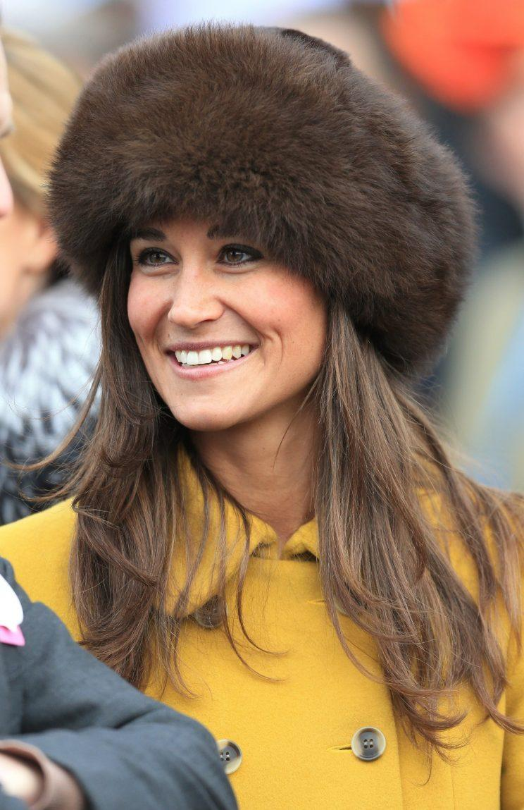 Sister Pippa wore the same style back in 2013 [Photo: PA]