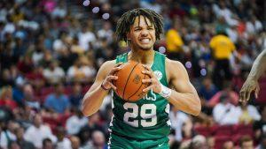 Carsen Edwards' Mirror Was Once So Covered With Goals He Could Barely See Himself