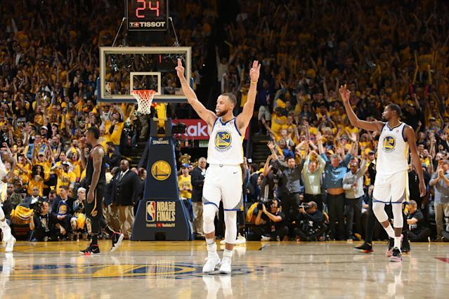 Stephen Curry and the Warriors once again didn't play their best but still won Thursday night. (Getty Images)
