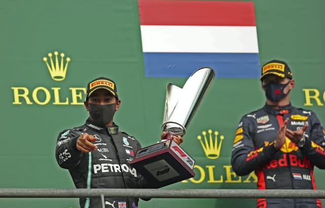 Lewis Hamilton edged closer to a seventh word title with victory in Belgium