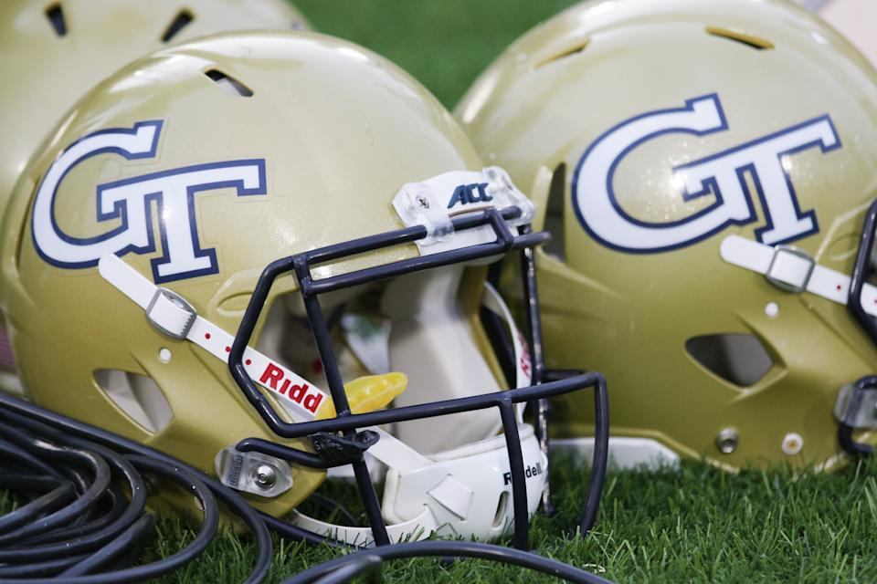 Bryce Gowdy, who died on Monday after being hit by an oncoming train, was scheduled to start classes at Georgia Tech next week. (Photo by Brian Utesch/Icon Sportswire via Getty Images)
