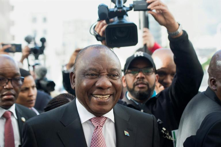 South African President Cyril Ramaphosa will be sworn in on Saturday after being re-elected by lawmakers