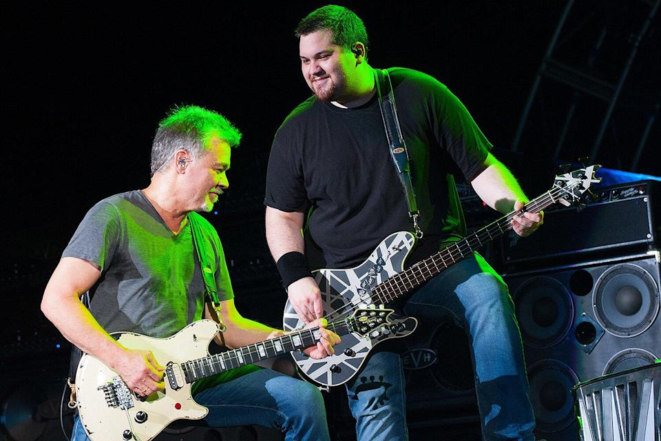 Wolf Van Halen Says He 'Got Three More Years' with Dad Eddie Thanks to Cancer Treatment in Germany