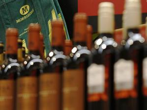 Bottles of wine are pictured at a London store ( LUKE MACGREGOR/Reuters)
